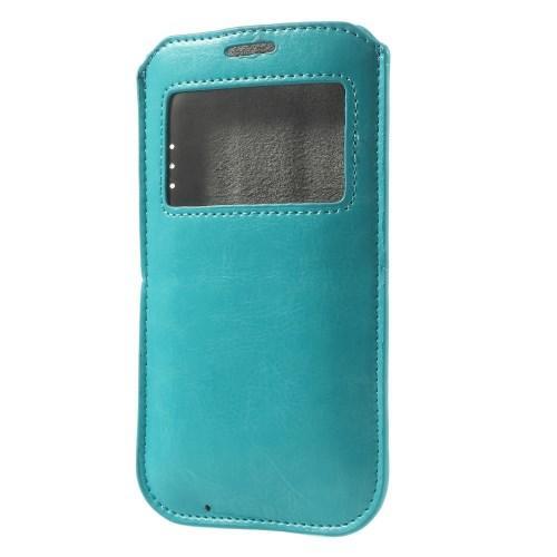 Чехол-футляр для Samsung Galaxy S5 голубой