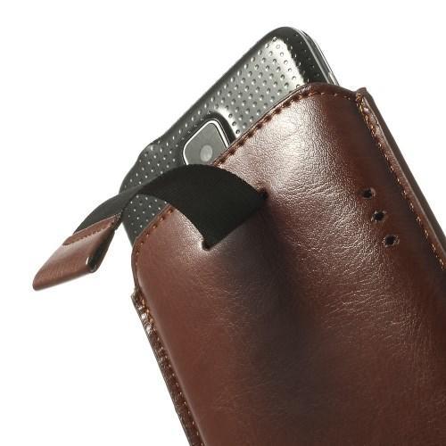 Чехол-футляр для Samsung Galaxy S5 коричневый