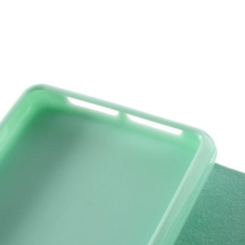 Чехол книжка для Sony Xperia Z1 Compact CYAN Dimanche