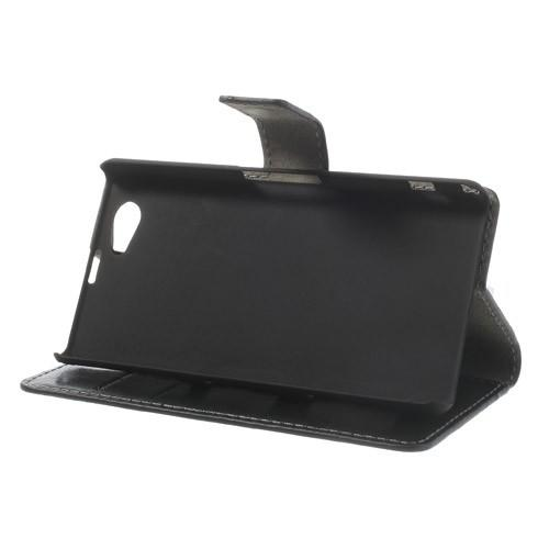 Чехол книжка для Sony Xperia Z1 Compact черный