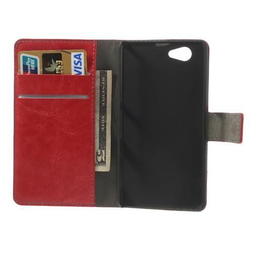 Чехол книжка для Sony Xperia Z1 Compact красный