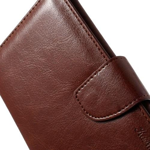 Чехол-футляр для смартфона коричневый цвет Small Pouch Grando