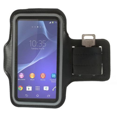 Чехол для бега на руку черный Arm Pocket Shield