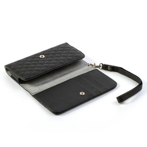Чехол-футляр для смартфона черного цвета
