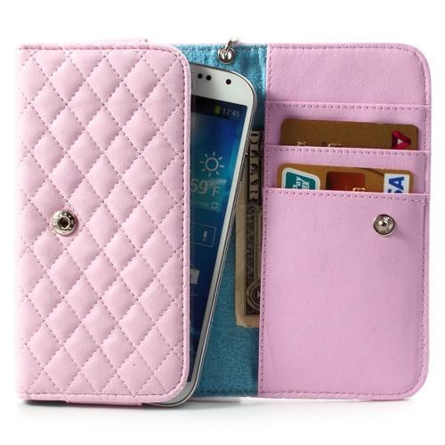 Чехол-футляр для смартфона розовый цвет BIG