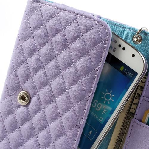 Чехол-футляр для смартфона сиреневого цвета