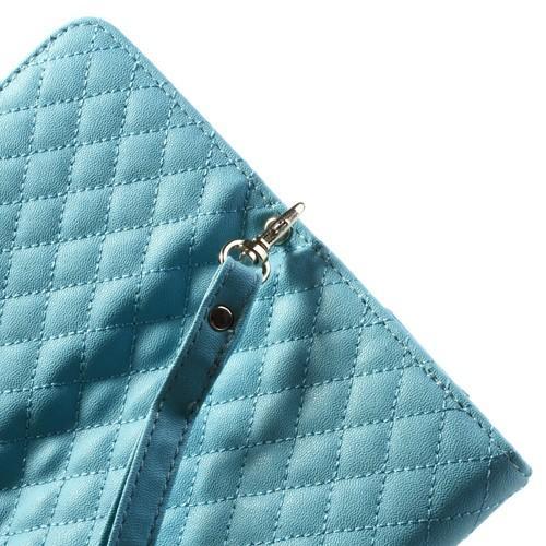 Чехол-футляр для смартфона голубой цвет