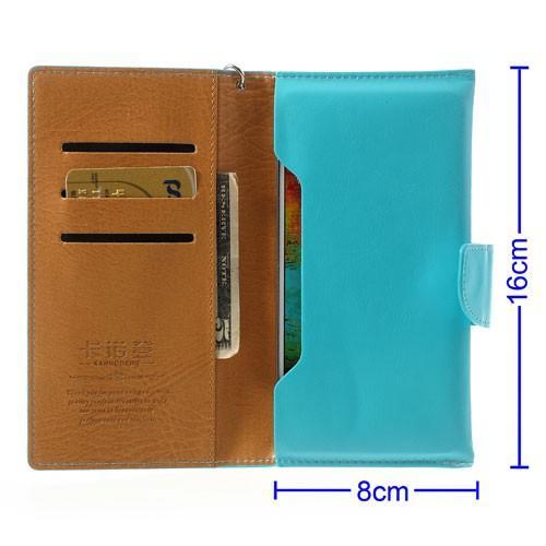 Чехол-футляр для смартфона голубой цвет KANUODENG