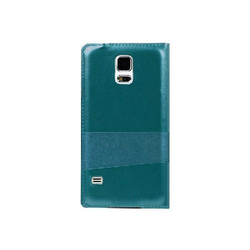 Флип чехол для Samsung Galaxy S5 USAMS Window View цвет Green