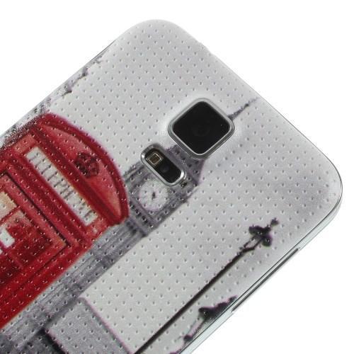 Сменная панель для Samsung Galaxy S5 с орнаментом Лондон