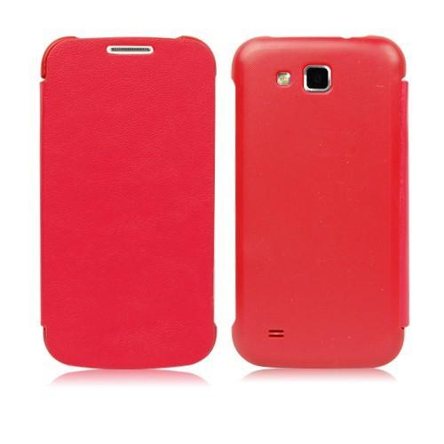 Flip чехол для Samsung Galaxy Premier красный