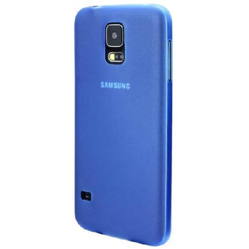 Ультратонкий пластиковый чехол для Samsung Galaxy S5 синий