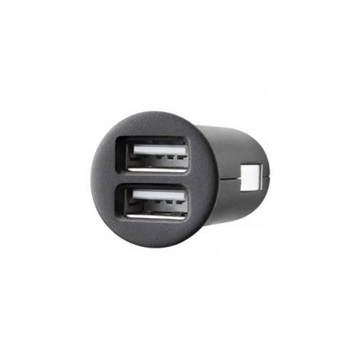 Зарядка от прикуривателя на 2 USB Belkin/ Автомобильное зарядное устройство - Черный