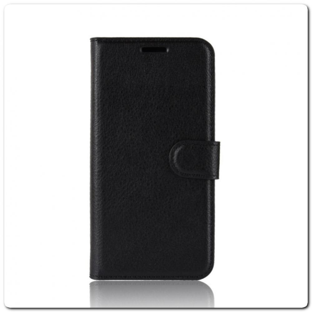 Чехол Книжка Book Wallet с Визитницей и Кошельком для Samsung Galaxy A70 Черный