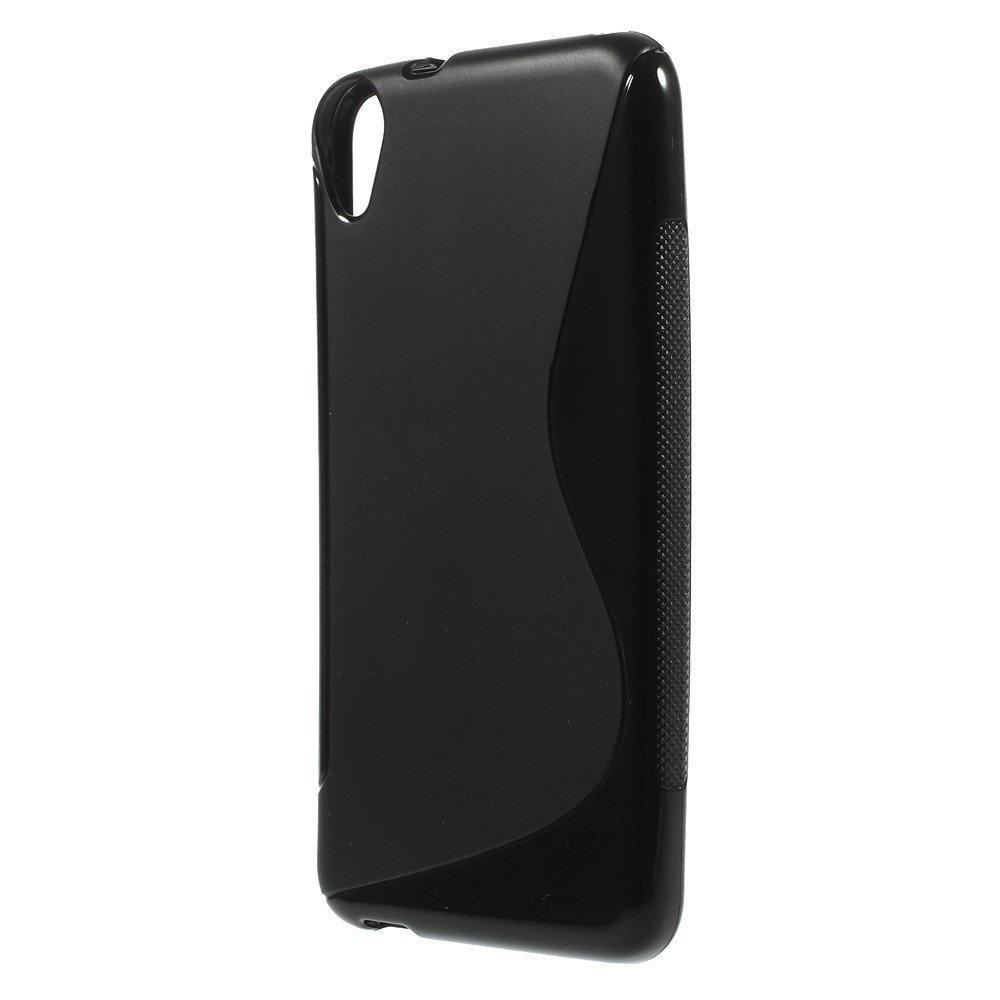 Силиконовый чехол для HTC Desire 820 черный
