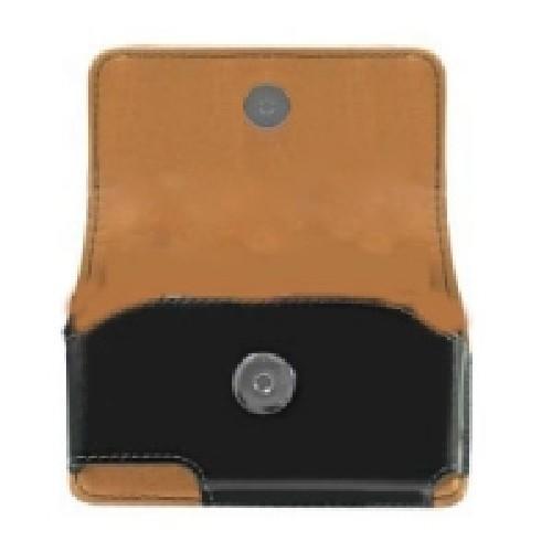 Кожаный чехол на пояс для Samsung Galaxy Ace черный