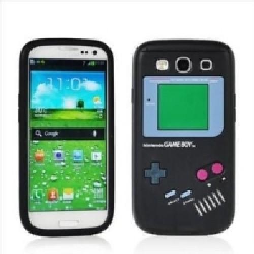 Силиконовый Gameboy чехол для Samsung Galaxy S3