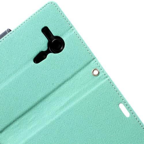 Flip чехол книжка для Sony Xperia SP Mint Green