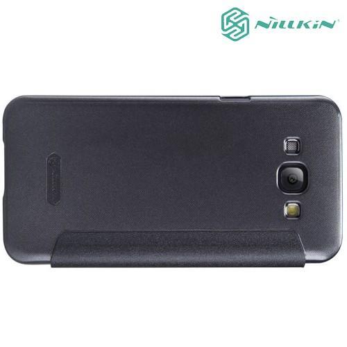 Nillkin Sparkle флип чехол для Samsung Galaxy A8 - черный