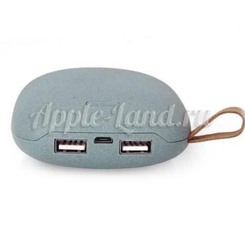 Портативный внешний аккумулятор 10400 mА/h Stone V-POWER камень