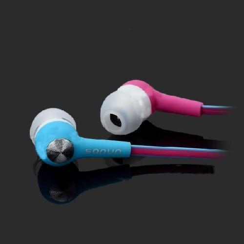Гарнитура для смартфона SONUN SN-A01 цвет Pink/Blue