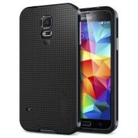Противоударный гибридный чехол для Samsung Galaxy S5 Black
