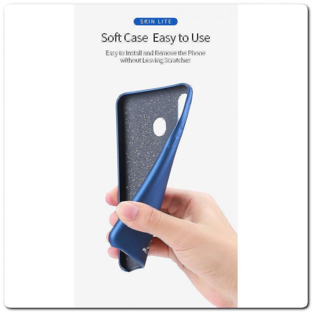 Тонкий Чехол Книжка DUX DUCIS из Гладкой Искусственной Кожи для Samsung Galaxy A40 Черный