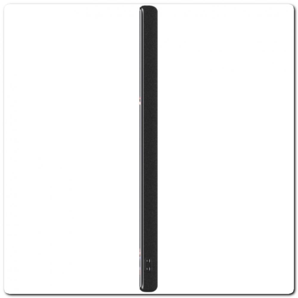 Тонкий Матовый Нескользящий Пластиковый Imak Чехол для Samsung Galaxy Note 10+ / Note 10 Plus Песочно-Черный