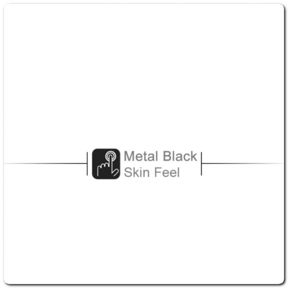 Тонкий Матовый Нескользящий Пластиковый Imak Чехол для Samsung Galaxy Note 10 Песочно-Черный