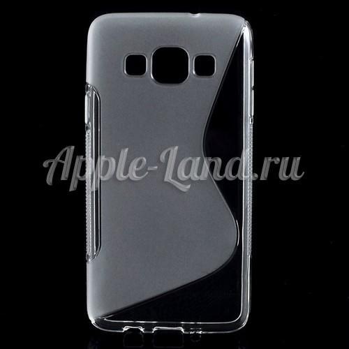 Силиконовый чехол для Samsung Galaxy A3 - прозрачный ToughGuard