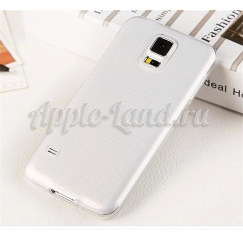Силиконовый чехол ToughGuard для Samsung Galaxy S5 mini белый