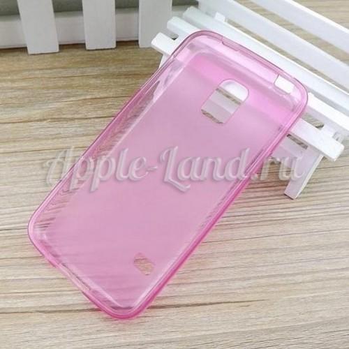 Силиконовый чехол ToughGuard для Samsung Galaxy S5 mini розовый