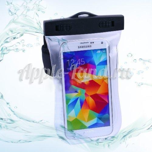 Чехол водонепроницаемый для смартфона с ремешком