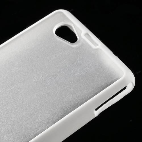 Силиконовый чехол для Sony Xperia Z1 Compact Crystal&White