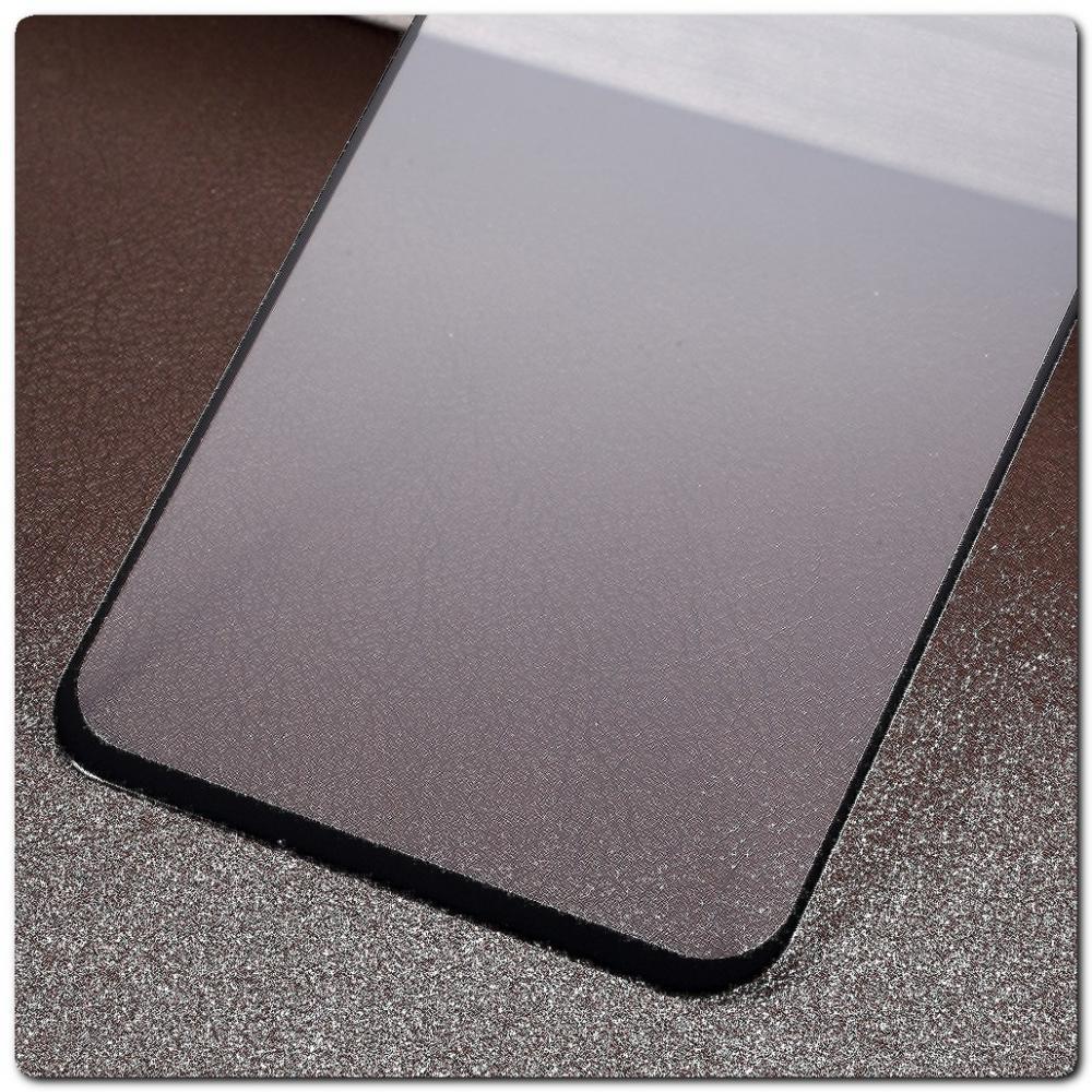 Закаленное Защитное Противоударное DF Стекло для Samsung Galaxy A40 с Олеофобным Покрытием Черное