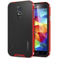 Противоударный гибридный чехол для Samsung Galaxy S5 Red