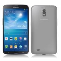 Ультратонкий пластиковый чехол для Samsung Galaxy Mega 6.3 белый