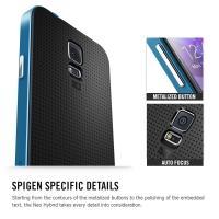 Противоударный гибридный чехол для Samsung Galaxy S5 Silver