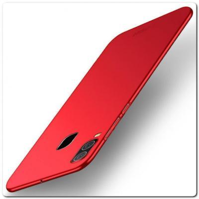 Матовый Ультратонкий Пластиковый Mofi Чехол для Samsung Galaxy A30 / Galaxy A20 Красный