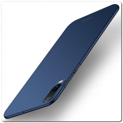 Матовый Ультратонкий Пластиковый Mofi Чехол для Samsung Galaxy A50 Синий