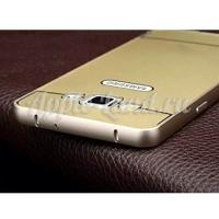 Металлический чехол для Samsung Galaxy A3 золотой