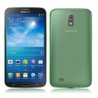 Ультратонкий пластиковый чехол для Samsung Galaxy Mega 6.3 зеленый