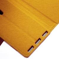 Flip чехол книжка для Sony Xperia SP желтый Bubble Gum