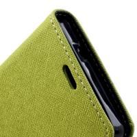 Flip чехол книжка для Sony Xperia SP зеленый