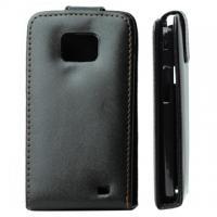 Кожаный чехол для Samsung Galaxy S2 черный