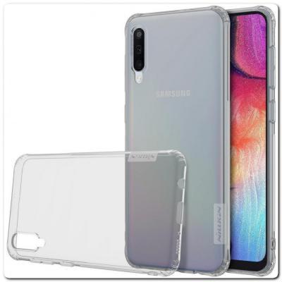 Нескользящий Чехол Nillkin Nature для Мобильного Телефона Samsung Galaxy A50 Серый