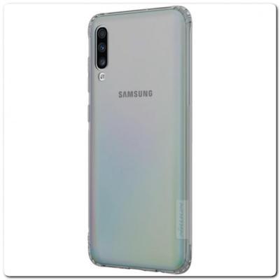 Нескользящий Чехол Nillkin Nature для Мобильного Телефона Samsung Galaxy A70 Серый