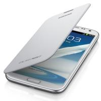 Чехол Flip Case для Samsung Galaxy Note 2 белый цвет