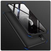 Купить Тройной Съемный Пластиковый Чехол GKK 360° для Samsung Galaxy A30 / Galaxy A20 Черный на Apple-Land.ru