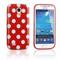 Купить Силиконовый чехол для Samsung Galaxy S4 mini Red Bubble на Apple-Land.ru